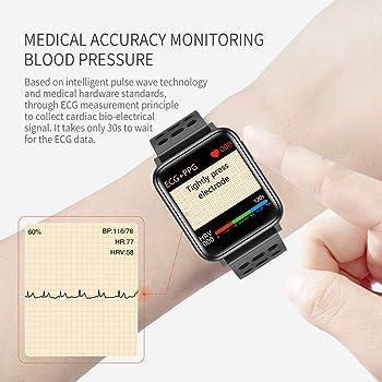 ECG PPG Monitor de frecuencia cardíaca Monitor de oxígeno en ...