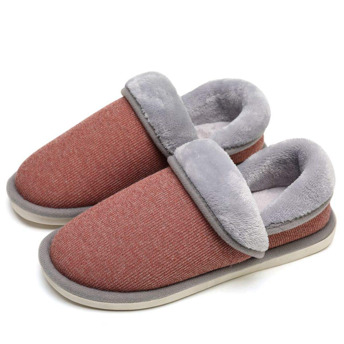 SOSUSHOE Unisex Cozy House Slippers, Fluffy Foldable Boots for Winter, Moccasin Slippers Shoes Indoor Outdoor