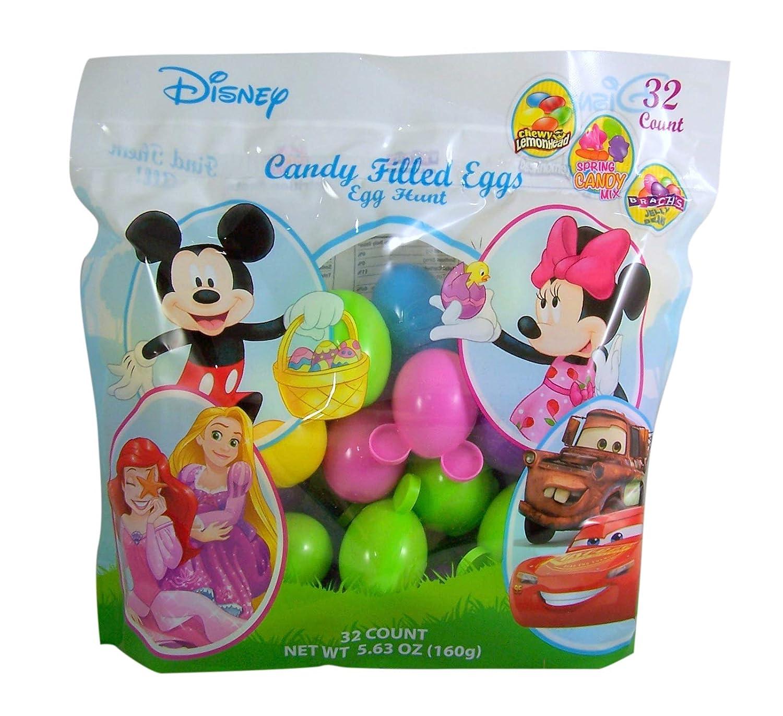 Easter Egg Hunt Colorful Easter Eggs Figures 32 Pack You Fill