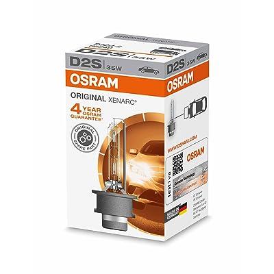 Osram Osram 12V Original Equipment High Intensity Discharge (Hid) D2S 66240 Headlight Bulb: Automotive