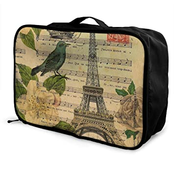JTRVW Luggage Bags for Travel Portable Luggage Duffel Bag Turquoise Cows Travel Bags Carry-on in Trolley Handle