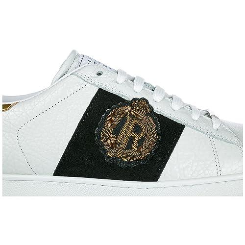 newest c6875 bd0a7 John Richmond Scarpe Sneakers Uomo in Pelle Nuove Panama ...