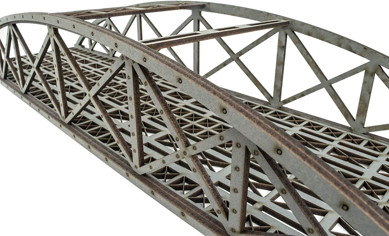 OO Gauge Single Track Bowstring Bridge by WWS \u2013 Model Railway MDF Scenery