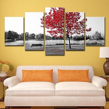 ASQWDC Gran Lienzo Arte impresión Pared Arte Pintura ...