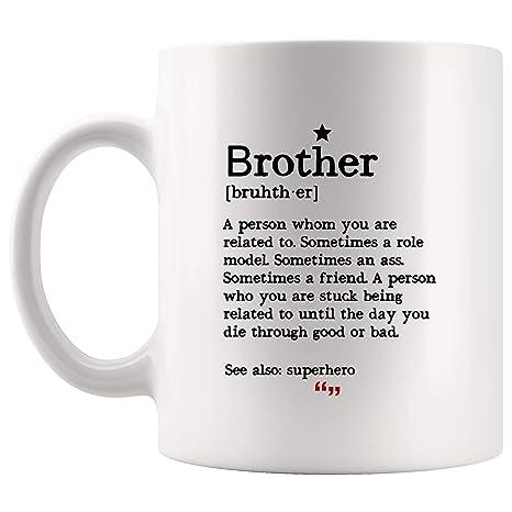 Amazon.com: Brother Related Superhero Sister Mug - Worlds ...