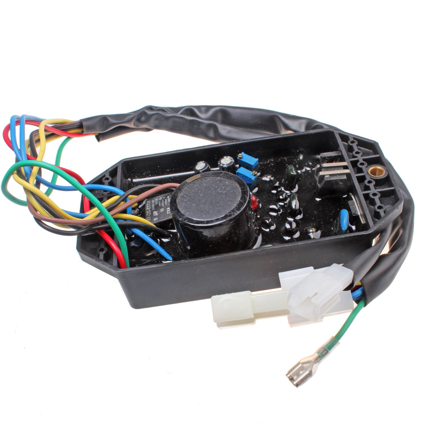Mover Parts Voltage Regulator PLY-DAVR-50S AVR 10 wires For KIPOR Generator 1phase 5KW