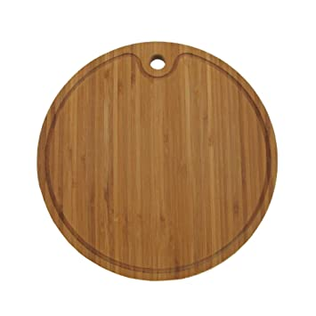 Amazon.com  Bamboo Round Cutting Board 15
