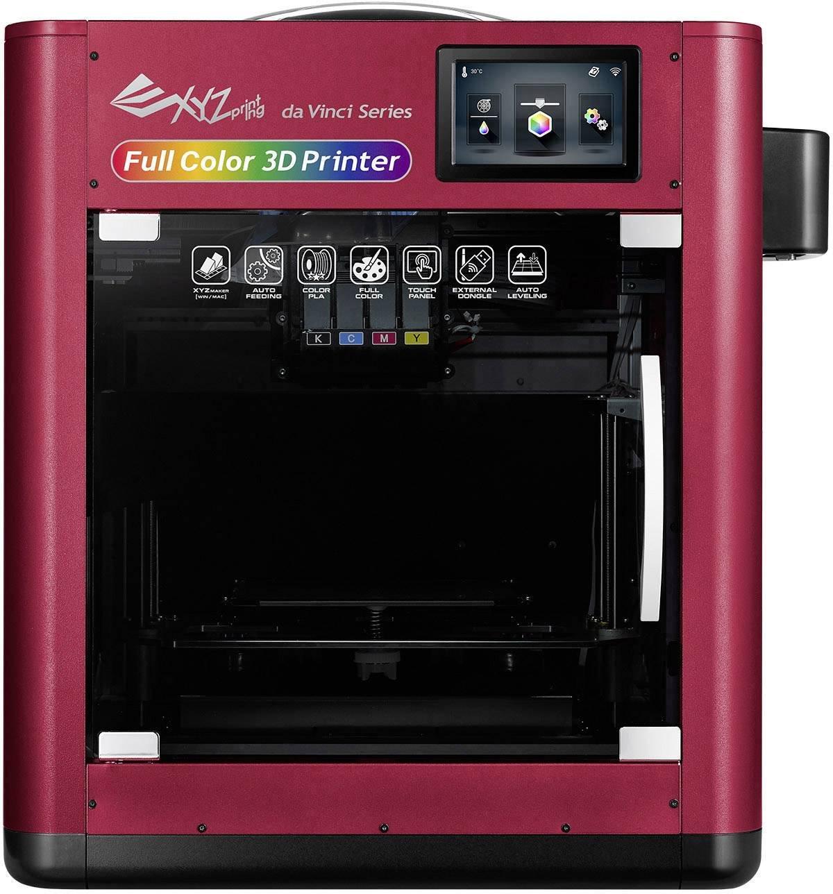 Impresora 3D XYZprinting da Vinci Color Impresora a inyección ...