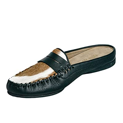Uwezo Women's Mule Loafer Brown & White