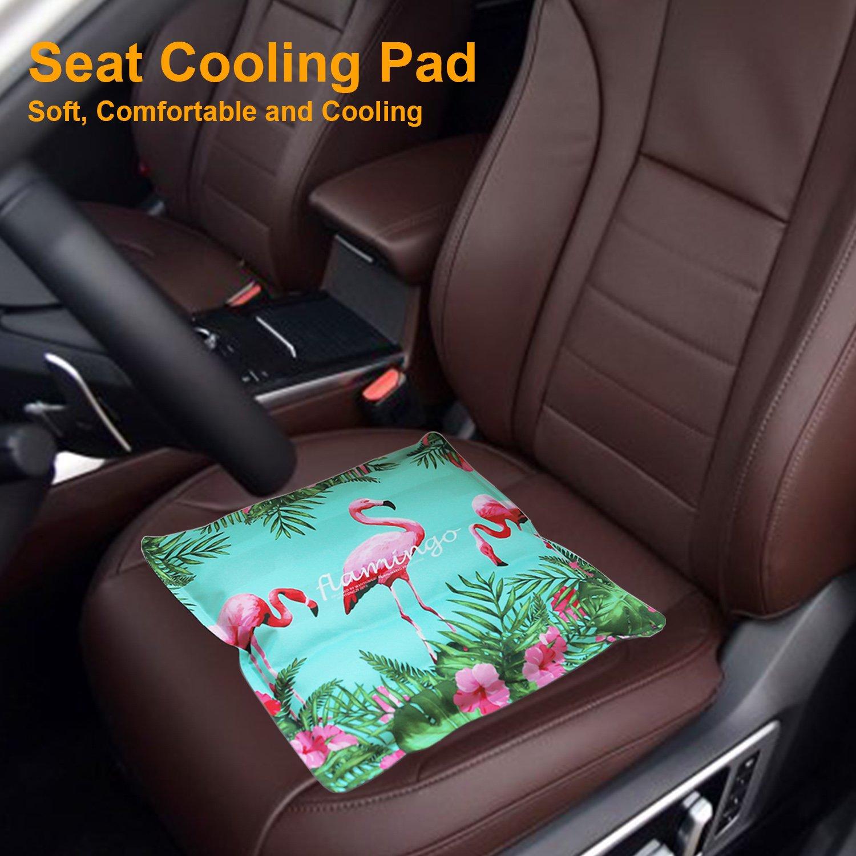 Amazon Amax Seat Cooling PadSeat Mat All CarOffice Chair PadDesk PadPET Cushion Neck Back Butt Home Kitchen