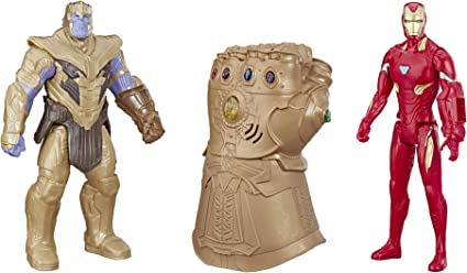 single super hero Thanos /& Infinity Gauntlet Avengers Infinity War building toy