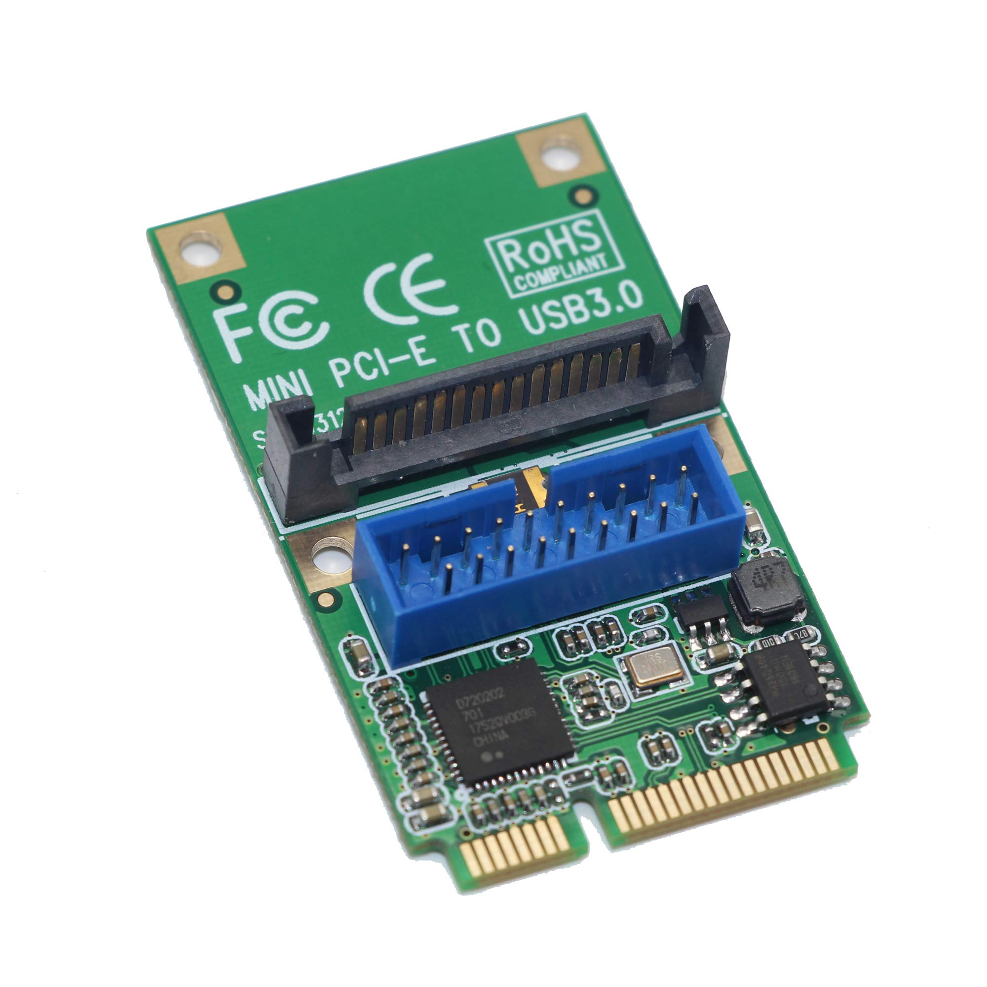Mini PCIe Padarsey Riser Card, to USB3.0 Expansion Card, to