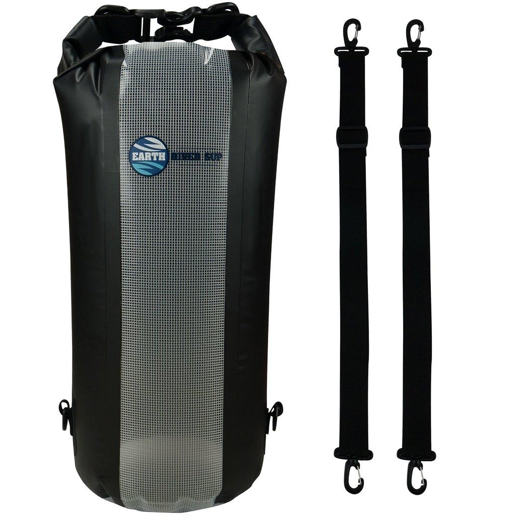 熱い販売 Earth川Sup安全な防水バッグドライバッグ – Inc。安全クリップ、ストラップバックパック(10リットルモデル& Black Up) &透明フロントパネル – 20L B01HBDILEA Black 20L Black 20L, 環境生活:83b48451 --- arianechie.dominiotemporario.com