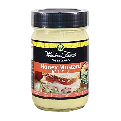 Walden Farms MAYONNAIZE, 340g (mayonesa sin calorías) - HONEY MUSTARD