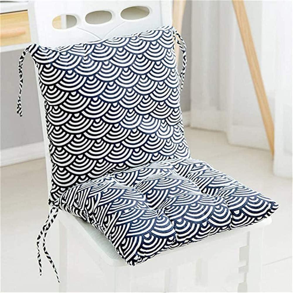 chaise de jardin coussin de chaise pour int/érieur et ext/érieur 40 cm x 40 cm Nicole Knupfer Lot de 2 coussins de chaise pour chaise de salle /à manger