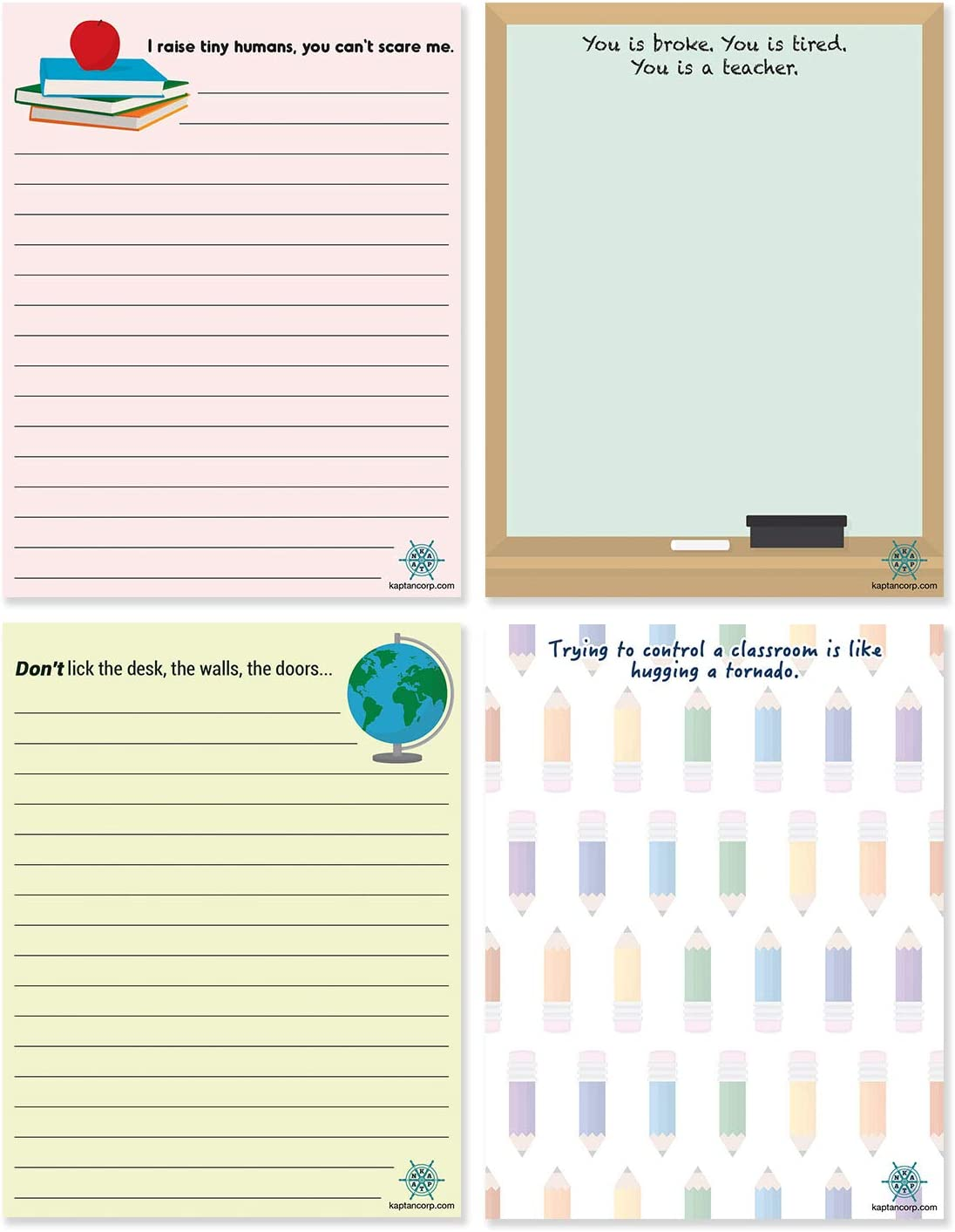 Sassy Sticky Note Pads_22 Hilarious Classroom Supplies You NEED if You're a Teacher