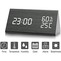 Despertador, Higrómetro, Termómetro Digital, Brillo de 3 Niveles