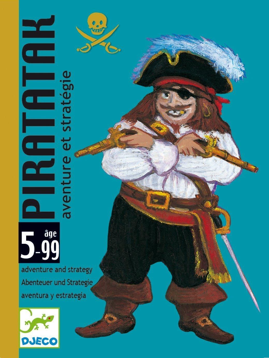 djeco jeux de carte pirate Piaratatak
