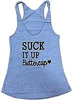 Friendly Oak Women's Suck it up Buttercup Tank top