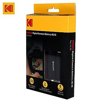 KODAK EL15 BL15 7.4V 1800mAh 13.4Wh Digital Camera Battery Batteries