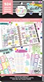 me & my BIG ideas Sticker Value Pack - The Happy Planner Scrapbooking Supplies - Colorful Boxes Theme - Multi-Color - Great for Projects, Scrapbooks & Albums - 30 Sheets, 924 Stickers Total