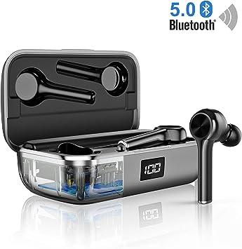 Auriculares inalámbricos Bluetooth 5.0, Reducción de Ruido en ...