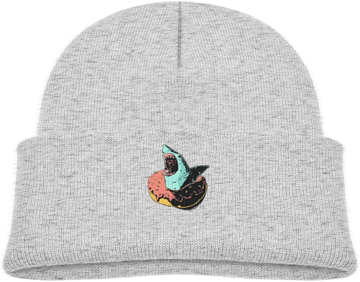 Angry Shark Donut Beanie Caps Knit Hats Infant