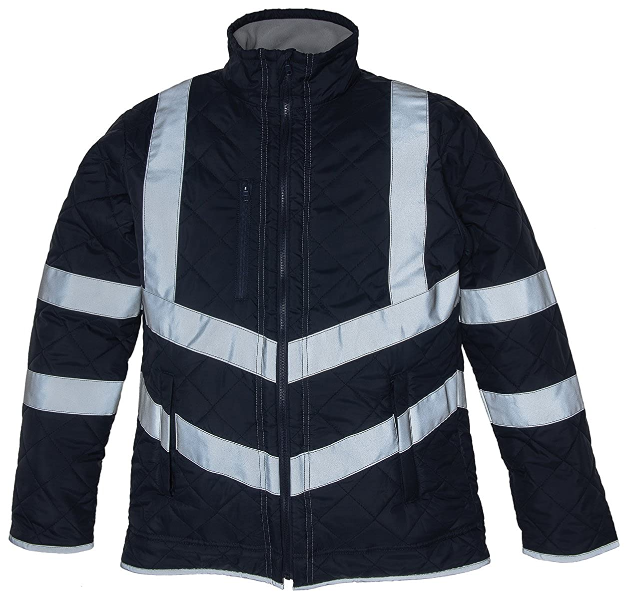 Yoko Hi vis Kensington Fleece Lined Jacket