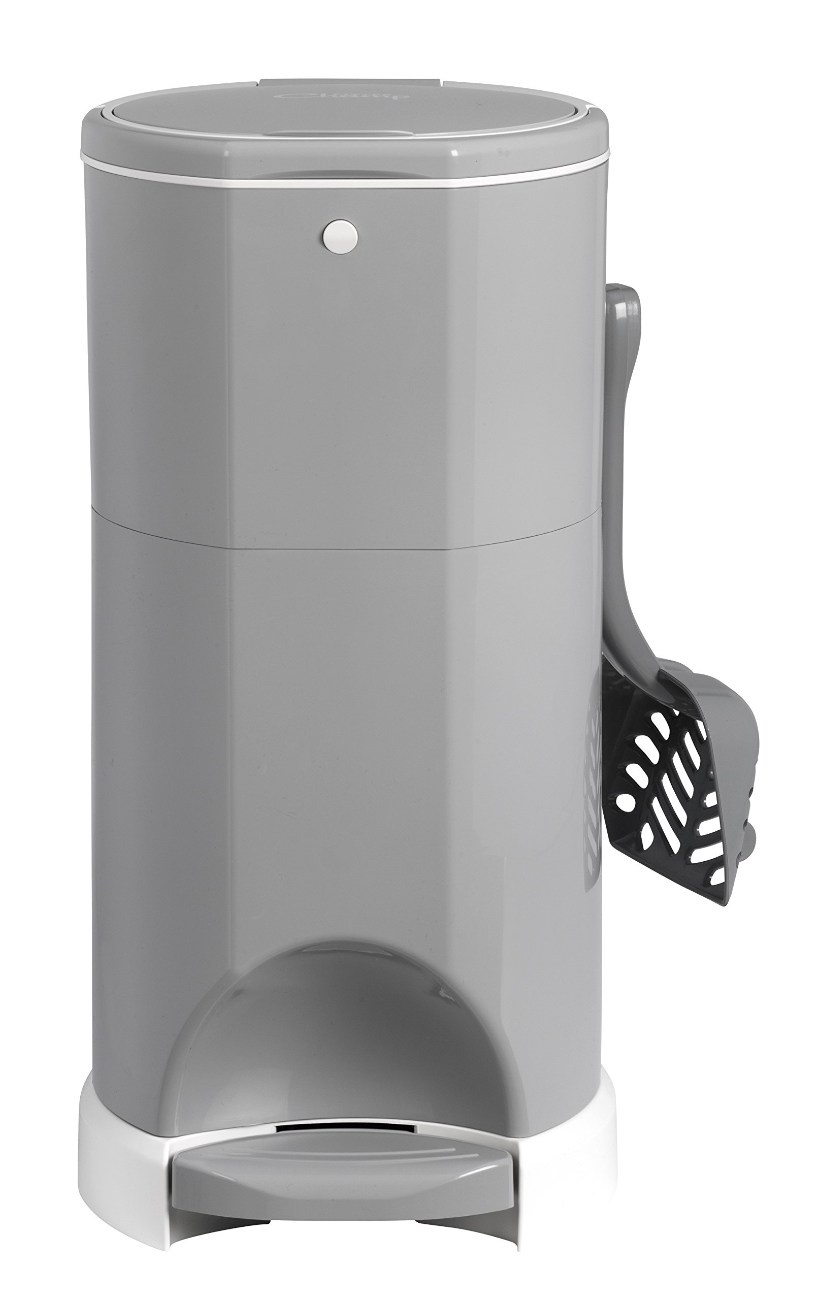 Litter Champ Premium Odor-Free Cat Litter Disposal System, Grey by Lucky Champ