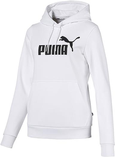 Puma Essential No.1 Womens Ladies Sports Hoodie Hoody Jacket Black UK 10