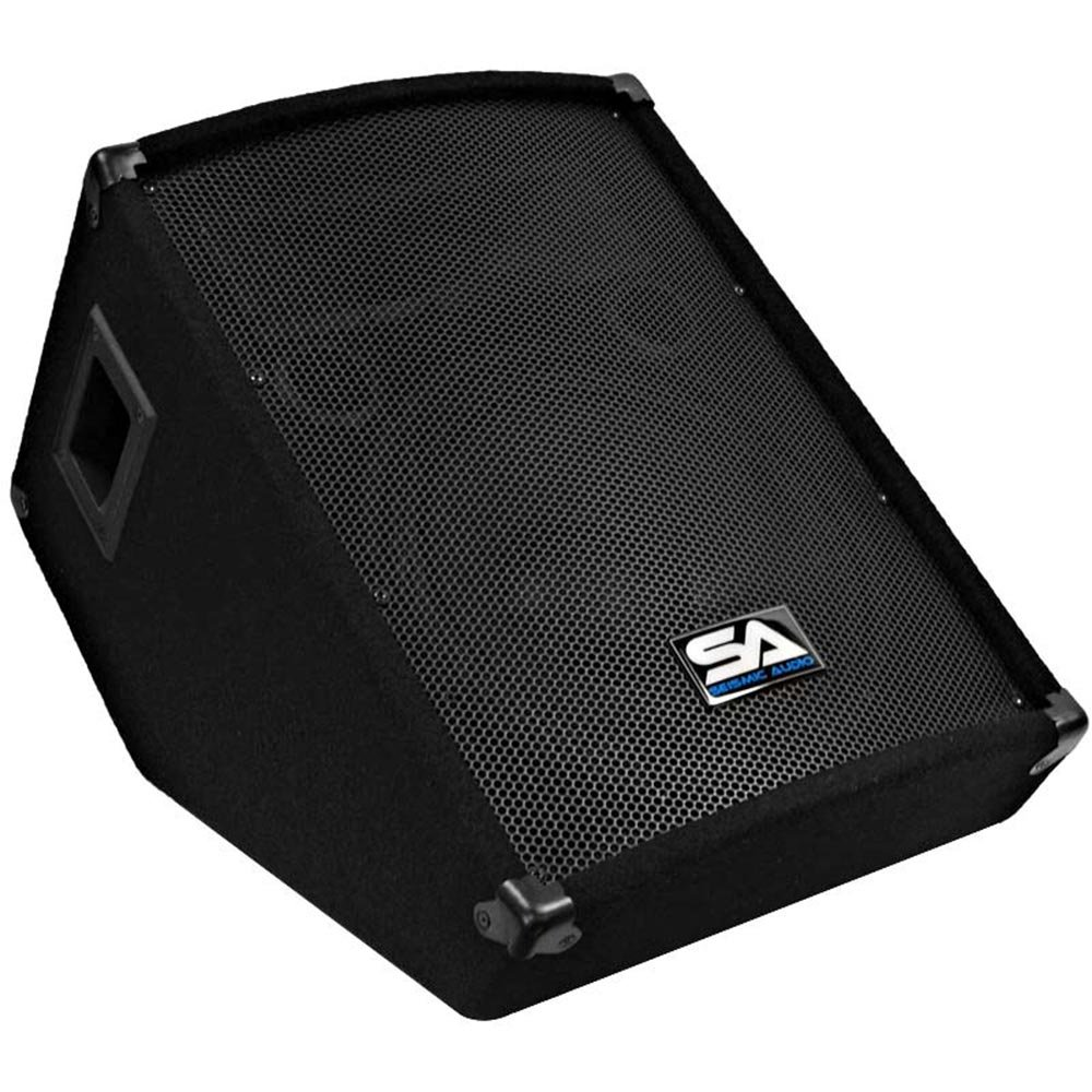 Seismic Audio - SA-12MT - Pro Audio PA/DJ 12'' Monitors - 200 Watts RMS by Seismic Audio