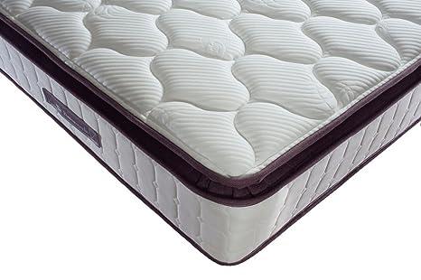 Sealy Nostromo 1400 colchón, algodón, berenjena, doble