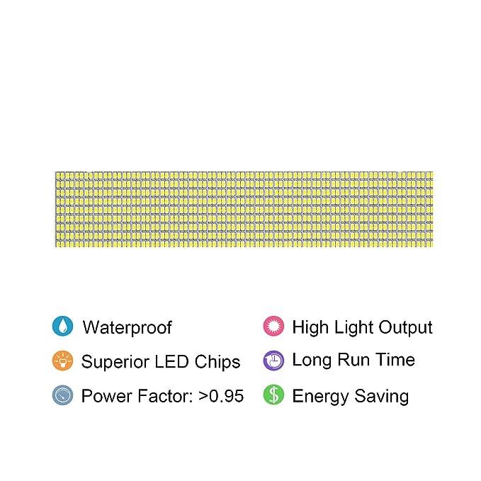 Solla® Foco proyector LED 150W para exteriores, blanco diurno ...