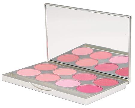 Graftobian Powder Blush Pro Palette, Cool Colors