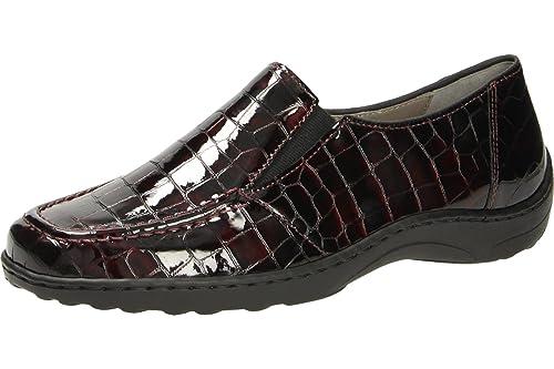 ara41010,05 - Mocasines Mujer, Color Rojo, Talla 36: Amazon.es: Zapatos y complementos