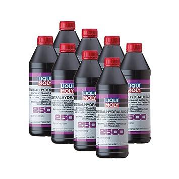 8x Liqui Moly 3667 2500 Hydraulic Oil Hydraulic Oil 1L Central
