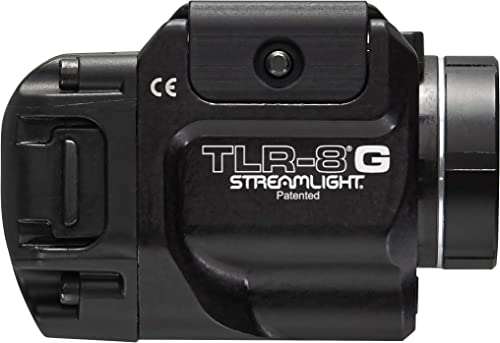 Streamlight 69430 TLR-8G with Rail Locating Keys CR123A Lithium Battery – 500 Lumens