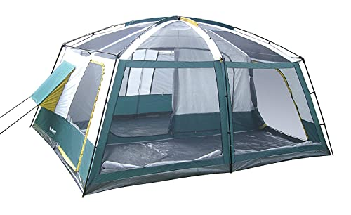 GigaTent 10 Person Family Tent - 3 Room Cabin Tent