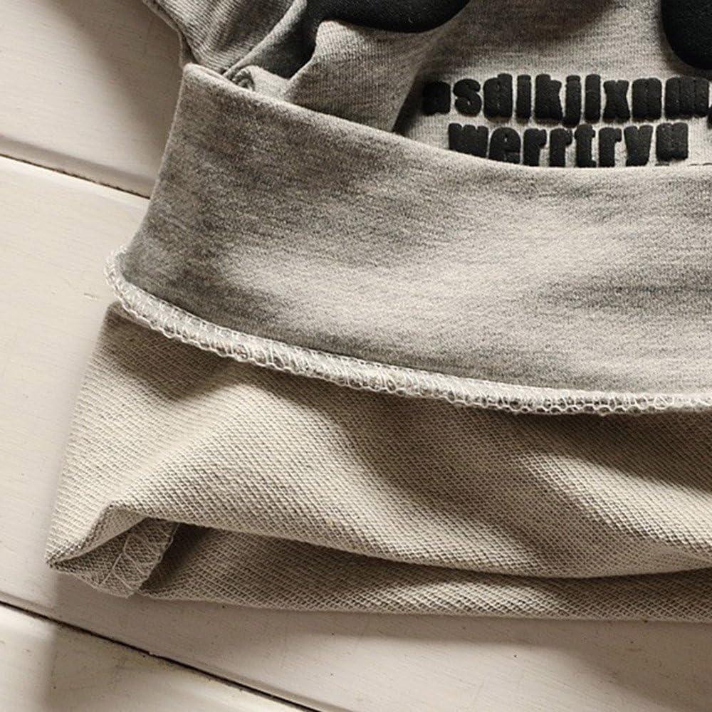 Mbby Tuta Bambina Pantaloni Set Caldo Manica Lunga Leggera Antivento 1-5 Anni Completino Bambino Ragazzi E Ragazze 2 Pezzi Tute Felpe