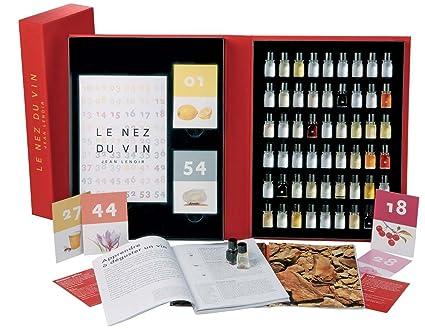 Le Nez du Vin : 54 arômes, collection complète en anglais (coffret toile)