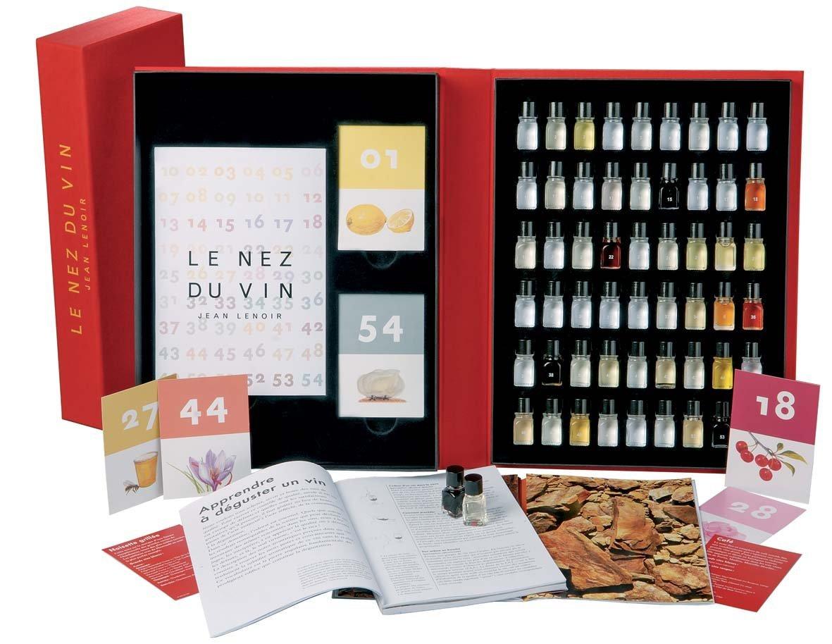 jean Renoir 56039Le Nez du Vin–54flavours, language: English