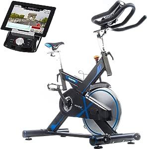 skandika Hyporion - Bicicleta Spinning estática - Bluetooth ...