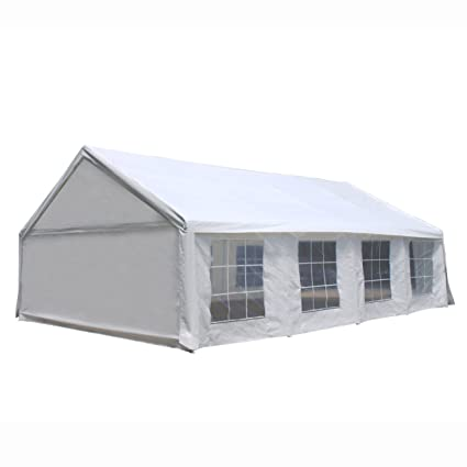 Amazon.com  ALEKO PWT2030 Outdoor Event Gazebo Canopy Tent with Sidewalls and Windows 20 x 30 x 10 Feet White  Garden u0026 Outdoor  sc 1 st  Amazon.com & Amazon.com : ALEKO PWT2030 Outdoor Event Gazebo Canopy Tent with ...