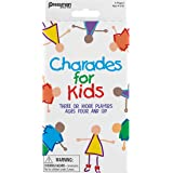 Pressman Charades for Kids Peggable  - No Reading Required Family Game