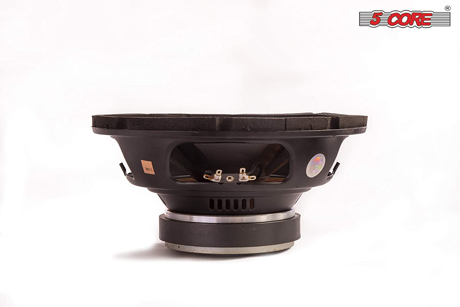 Dual Voice Coil 5 Core Car Vehicle Subwoofer Audio Speaker PP Cone Heavy Bass 8-01 Bazooka Surround Sound Hi Performance for Long Drives High Power for Vehicle Stereo Sound System