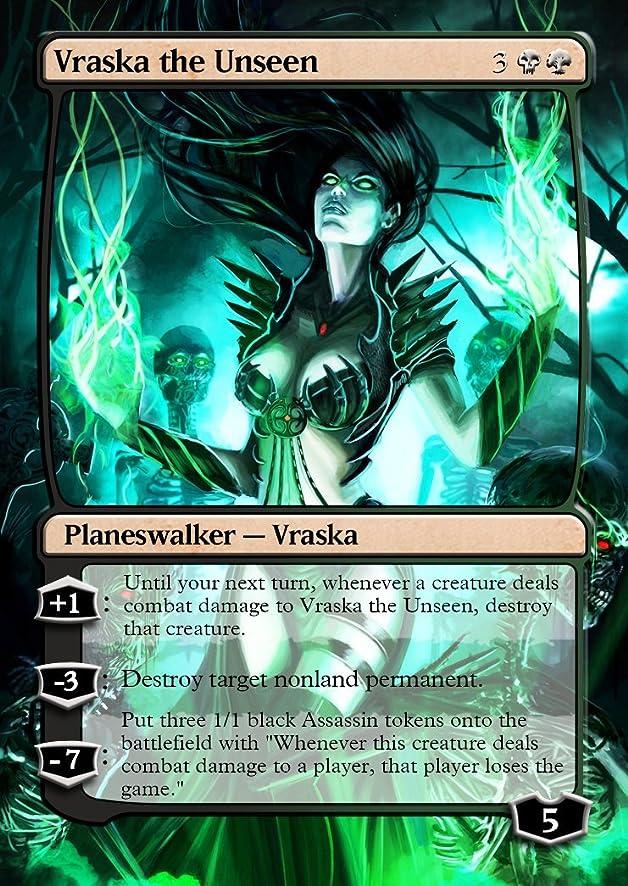 3x Assassin #1 Custom Altered Tokens for Vraska, the Unseen