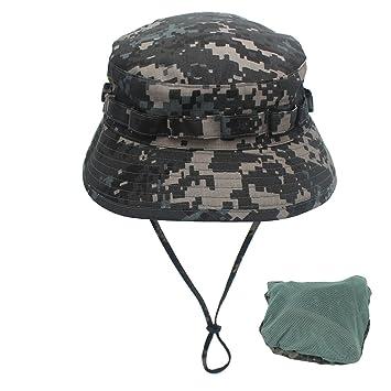 Kata Sombrero para hombre con sombrero ancho para protección solar al aire  libre 915b5a77f10