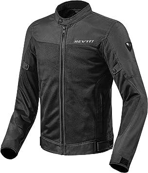 schwarz Revit ECLIPSE Herren Motorrad Textiljacke Touring