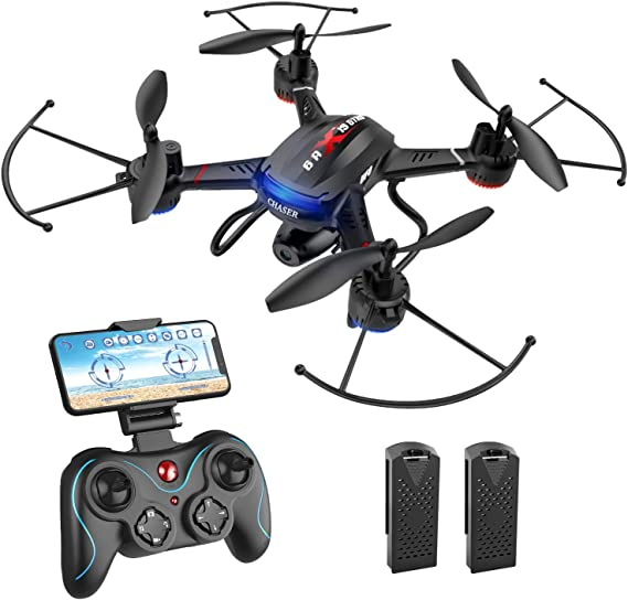 Holy Stone F181W 1080P WiFi FPV Drone with Wide-Angle HD Camera Live Video RC Quadcopter with Altitude Hold