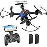 Holy Stone F181W 1080P WiFi FPV Drone with Wide-Angle HD Camera Live Video RC Quadcopter with Altitude Hold, Gravity…
